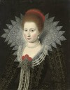 Lady, possibly Anne of Denmark by Follower of Paul van Somer (auctioned by Christie's)