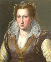 Lady, probably Bianca Capello, by Bronzino (location unknown to gogm)