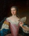 Lady, said to be Sabine, Comtesse de Bassevitz by François Hubert Drouais (auctioned by Christie's)