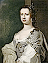 Lady Charlotte Boyle by or, possibly, after George Knapton (Chiswick House - Chiswick, London UK)
