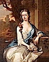 Lady Charlotte Williams, née Herbert (d. after 1751), later Lady Charlotte Morris (m.1723), then Lady Charlotte Williams by Michael Dahl (Powis Castle - Welshpool, Powys UK)