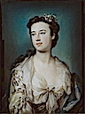 Lady Dorothy Boyle, Countess of Euston by George Knapton (Chatsworth House - Bakewell, North Derbyshire UK)
