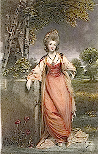 Lady Elizabeth Cavendish, Duchess of Devonshire after Sir Joshua Reynolds