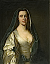 Lady Elizabeth Russell (1704–1784), Second Wife of William Capel, 3rd Earl of Essex by Andrea Soldi (Watford Museum Collection of Fine Art - Wotford, Hertfordshire UK)