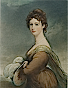 Lady Emily Cowper by Sir Thomas Lawrence color print