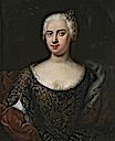 "Lady from an ""Adeliges Portraitpaar"" (noble couple portrait) by ? (under auction by Hampel)"
