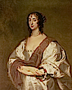 Lady Anne Killigrew by Sir Anthonis van Dyck (Weston Park - Weston-under-Lizard UK)