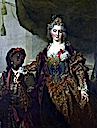 1720 (probably) Princess Rakoczi by Nicolas de Largillierre (National Gallery, London)