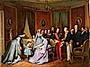 1867 The Emperor and Empress received by Senator and Count Mimerel a Roubaix on 29 August by Claude Jacquand (Chateau de Compiegne, Compiegne)