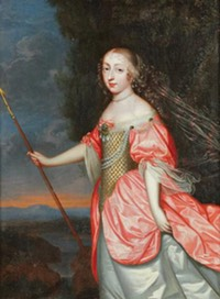 Louise de La Baume, Duchesse de La Valliére by ? (location unknown to gogm)From jeannedepompadour.blogspot.com:2012:04:love-and-louis-xiv-louis-xiv-king-of.html