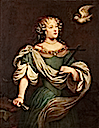 Louise de La Vallière comme Sainte Hélène by ? (location unknown to gogm)