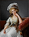 1789 Louise Marie Adélaïde de Penthievre, The Duchesse d'Orléans signed and dated upper right - Élisabeth-Louise Vigée-Lebrun (Collection Comte de Paris, Fondation Saint Louis, Chateau d'Amboise)