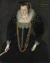 Lucy, Lady Reynell of Ford by circle of Marcus Gheeraerts the Younger (auctioned by Christie's)