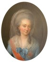 Luise Friederike Herzogin von Mecklenburg-Schwerin (1722-1791), geborne Herzogin von Württemberg-Stuttgart by Christian Friedrich Reinhold Lisiewski (private collection)