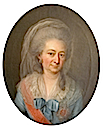 Luise Friederike, Duchess of Mecklenburg-Schwerin, née Duchess of Württemberg-Stuttgart wearing a Russian order sash and star by Christian Friedrich Reinhold Lisiewski (auctioned)