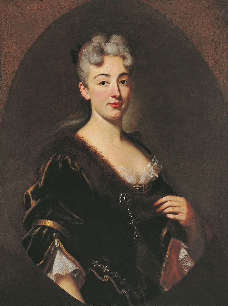 Madame de La Fayette, probably Marie Catherine de Suat, dame de Chavaniac by ? (location ?) From the lost gallery's photostream on flickr removed spots and previous frame boundary with Photoshop