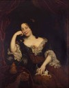 Madame de Maintenon reposing by ? (location unknown to gogm)