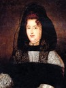 Madame de Maintenon wearing dark dress by ? (location ?)