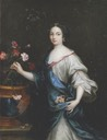 Mademoiselle des Œillets by Pierre Mignard (location unknown to gogm)
