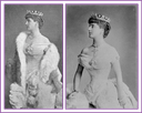 Marchioness Theresa of Londonderry with and without coat
