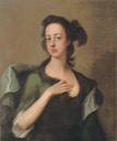Margaret Cavendish Bentinck, 2nd Duchess of Portland in a green dress by Michael Dahl (auctioned by Christie's)