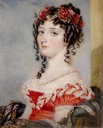 Margaret, Countess of Blessington by Alfred Edward Chalon (auctioned by Bonhams)