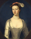 Margaret Rolle, later Countess of Orford by Charles Jervas (location unknown to gogm)