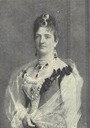 Margherita of Savoy wearing different jewels