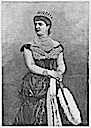 ca. 1878 Margherita di Savoia print after Luigi Montabone