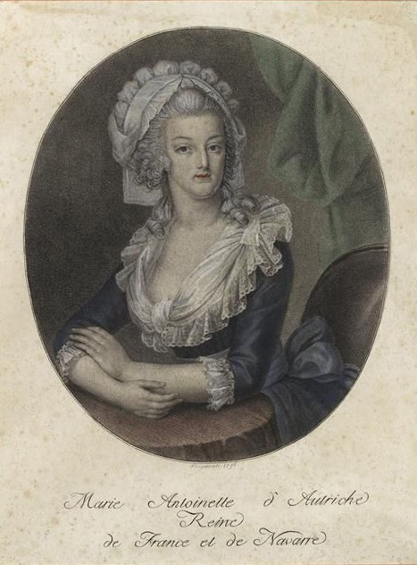 Maria Antonia of Austria, Queen of France and Navarre by ? From pinterest.com:JaninaStepp:marie-antoinette: