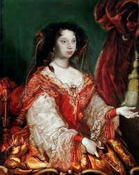Maria Francisca of Savoy (Marie Françoise Élisabeth; 21 June 1646 – 27 December 1683) by ? (location unknown to gogm) From the lost gallery's photostream on flickr