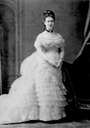 Maria Pavlovna, Grand Princess of Russia, 1854-1920, wife of Grand Duke Vladimir Aleksandrovich From pinterest.com/Lucyfunk123/russian-royaltyhistory/ detint increased contrast
