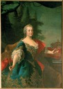 Maria Theresia Queen of Hungary probably by Martin van Meytens (location unknown to gogm)