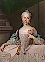 Maria Amalia of Saxony by Giuseppe Bonito (auctioned)