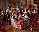 Marriage of Louis de France, Duke de Bourgogne and Marie-Adelaide de Savoie, 7 December 1697 by Antoine Dieu (Versailles)
