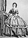 1862 Queen of the Two Sicilies Maria Sofia