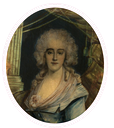 Marie Adrienne de Noailles, 4e. Marquise de La Fayette et de Vissac (1759-1807) by ? (location ?) From Pinterest search