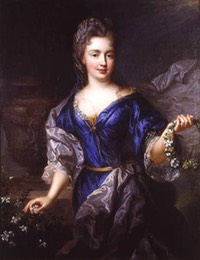 Marie Anne de Bourbon légitimée de France, Princesse de Conti, daughter of Louis and Louise de la Vallière by Nicolas de Largillière (location unknown to gogm)