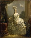 Marie Antoinette after Elisabeth-Louise Vigee-Lebrun (Chateau Compiegne, Compiegne)
