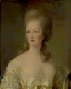 Marie Antoinette by entourage of Élisabeth-Louise Vigée-Lebrun (auctioned by Christie's) From the Christie's Web site 50 pixels/cm inc. contrast inc. exp