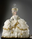 Marie Antoinette in court dress by George Stuart (Museum of Ventura County - Santa Paula, California USA)