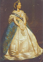 Marie-Henriette in full court dress by ? (location unknown to gogm)