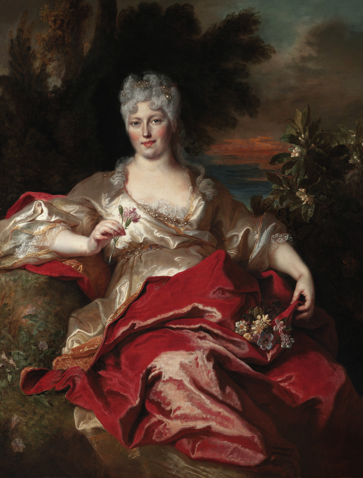 Marie Thérèse Blonel d'Haraucourt madame Phalaris, 'Mère Jezabel' by Nicolas de Largillière (auctioned by Christie's) the lost gallery