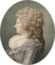 1791 (issue date) Marie Thérèse de Savoie Carignan, princesse de Lambale by Louis-Charles Ruotte after Henri-Pierre Danloux (Bibliothèque nationale de France)