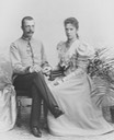 Marie Valerie and Archduke Franz Salvator From antique-royals.tumblr.com detint
