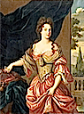 Marie Anne de Bourbon, Duchess of Vendôme by Hippolyte Flandrin in 1839 after Pierre (?) Mignard (Versailles)