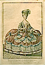 Marie-Antoinette in court dress