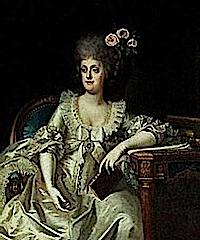 Marie Caroline, Queen of Naples by Landini