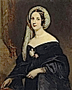Marie Eleonor Jenkinson, Duchesse de Montebello by Claude Marie Dubufe (location unknown to gogm)