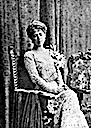 Marie of Romania wearing an all-lace dress